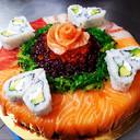 Torta di sushi